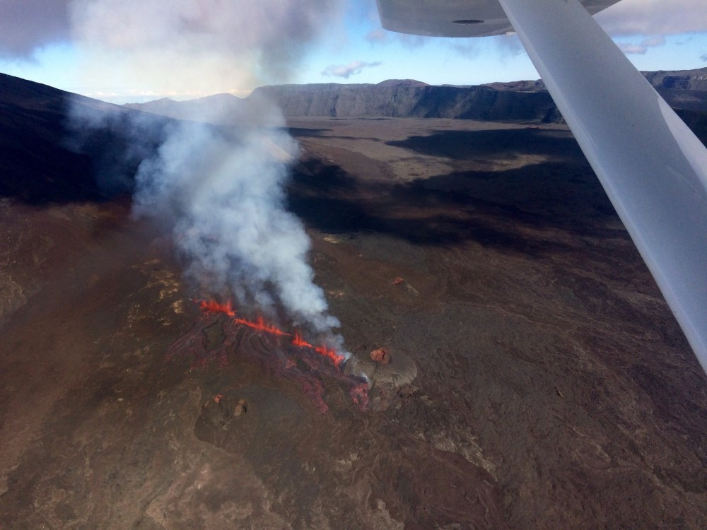 Piton de la Fournaise - Éruption 2015